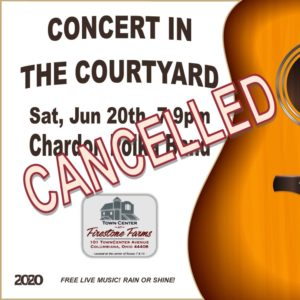 CANCELLED - Concert in the Courtyard @ TownCenter at Firestone Farms