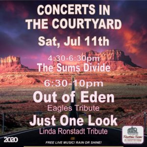 OUT OF EDEN and JUST ONE LOOK - Concert in the Courtyard @ TownCenter at Firestone Farms