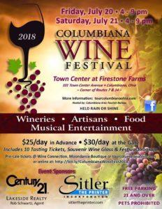 Columbiana Wine Festival 2018