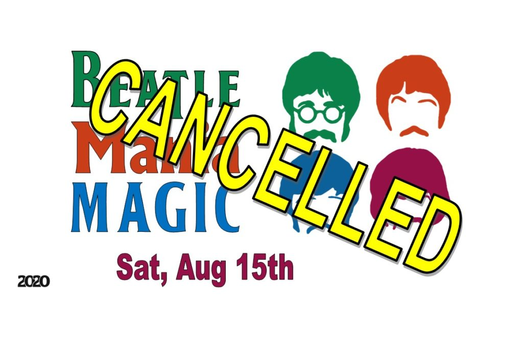 Cancelled concert