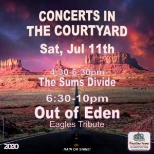 OUT OF EDEN Eagles Tribute Band - Concert in the Courtyard @ TownCenter at Firestone Farms