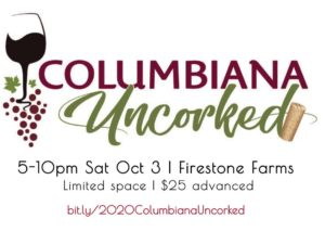 Columbiana Uncorked 2020 @ TownCenter at Firestone Farms