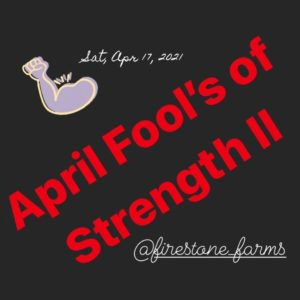 April Fools of Strength II - Strongman Competition @ TownCenter at Firestone Farms