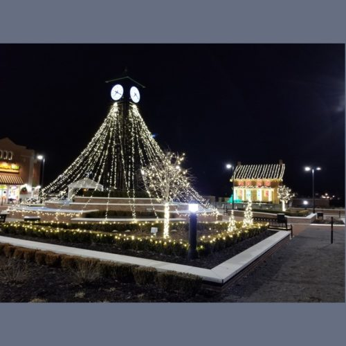 Clock Tower and Harveys House 2019-12-25