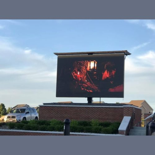Outdoor movie 2019-06-14