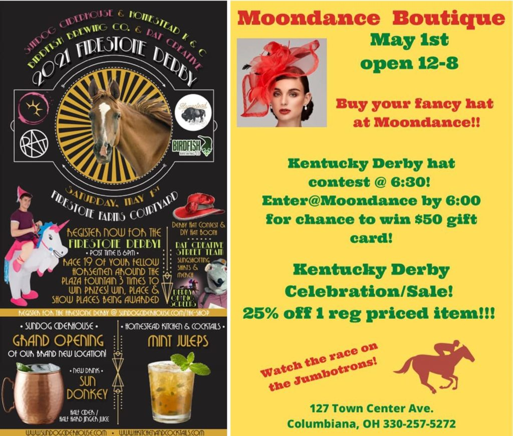 Kentucky Derby celebration @ TownCenter at Firestone Farms