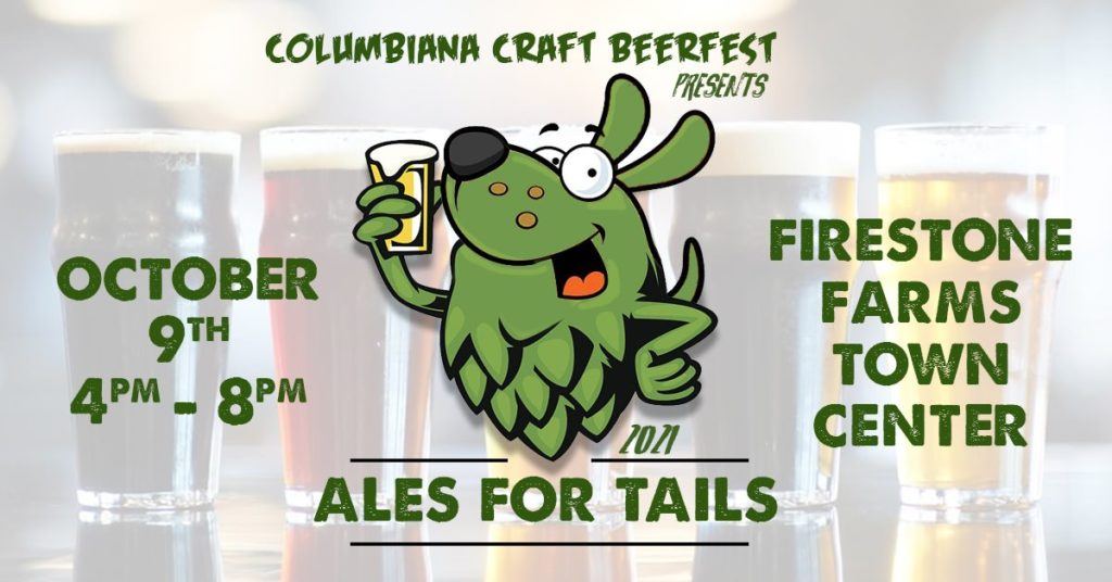 Columbiana Craft BeerFest: Ales for Tails @ TownCenter at Firestone Farms