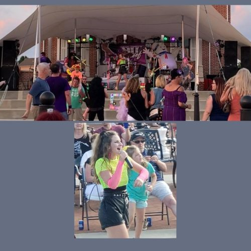 80s Proof Concert in the Courtyard 2021-06-12